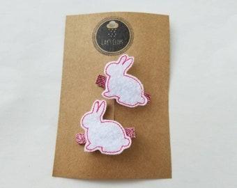 Bunny Clip set