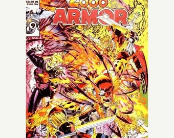 ON SALE Armor, Deathwatch 2000 - Issue 2 - May 1993 - Modern - GEM/Mt Unopened - Continuity Comics