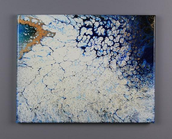 Arctic ~ Acrylic Painting by Katie Friend ~ KLF Studio