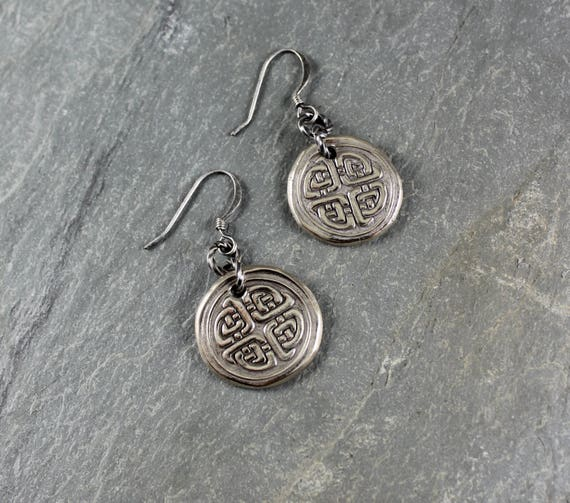 Celtic Knot earrings ~ Artisan Handcrafted