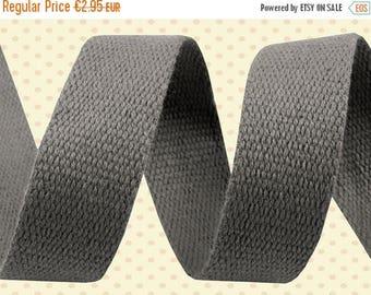 Summer Sale Cotton belt 3 cm grey