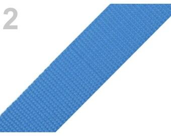 2 - Strap blue 30 mm polypropylene