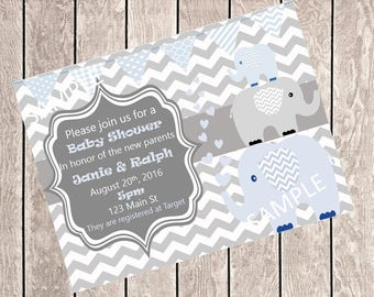 Boy Baby Shower Invite *Digital*