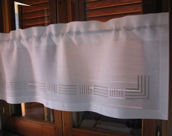 living room curtains valance,white valance,linen curtain,white curtain,white linen valance,kitchen curtains linen,linen curtains cafe