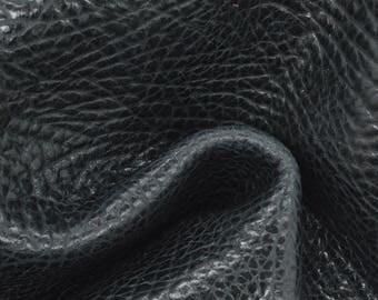 "Dark Oasis Leather Cow Hide 8"" x 10"" Pre-cut 3 1/2-4 oz Large Pebble Grain TA-58070 (Sec. 3,Shelf 2,B)"
