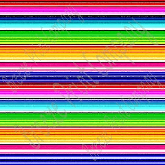 heat transfer serape stripe pattern mexican blanket patterned