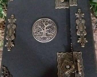 grimoire Journal blank notebook book Book of Shadows Spells Book  grimoire Witch book of shadows Altar Journal