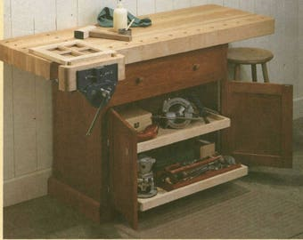 Classic Workbench Woodworking Plans