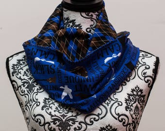 Ravenclaw Inspired Infinity Scarf