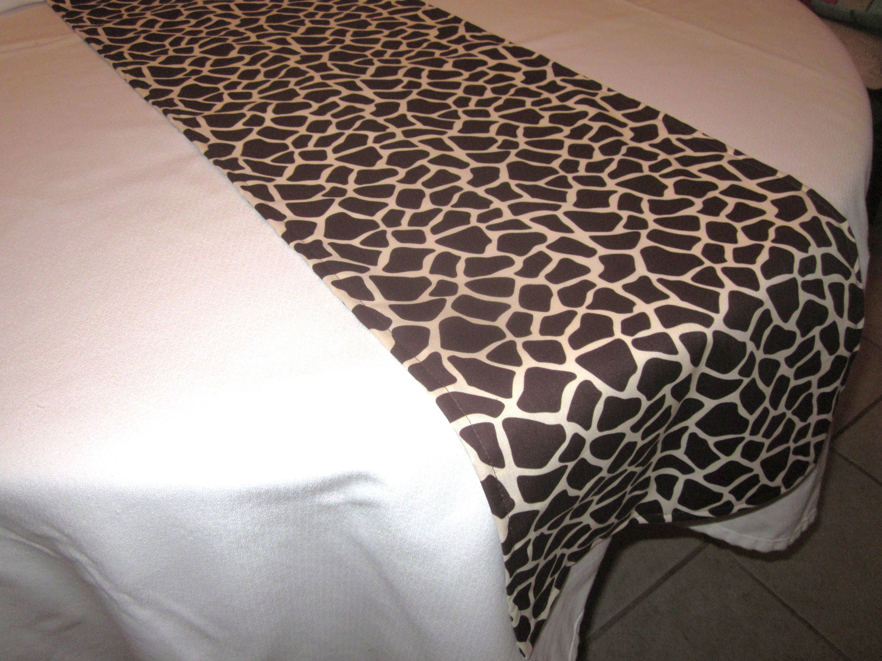 Zebra Print Table Runner Safari Party Decor Zoo Party Baby