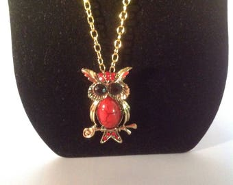 Just a Fun Little Owl Necklace.