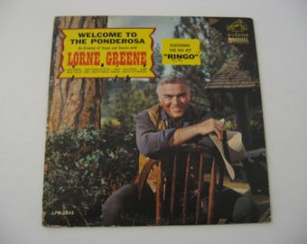 Lorne Greene - Welcome To The Ponderosa - Circa 1964