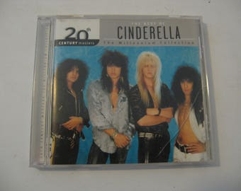 Cinderella - The Best Of Cinderella - The Millennium Collection  (CD)