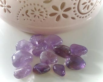 Wrapped Amethyst stone for Crystal healing