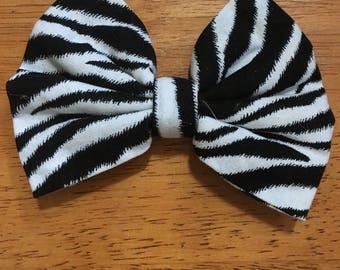 Zebra Hairbow