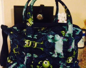 Monsters University Diaper bag with wipe case