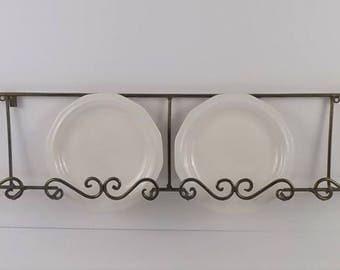 Wall Plate Rack & horizontal wall plate rack | Cosmecol