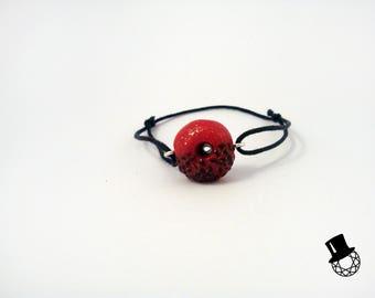 Strawberry Chocolate Donut Bracelet