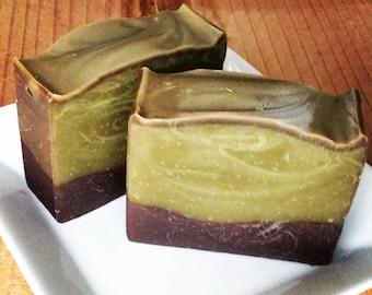 Best {MATCHA GREEN TEA}Handmade Organic soap for Dry Skin W/Jojoba+Avocado, Graduation Party,Baby Bridal Shower, Wedding Gift, mom dad, Baby