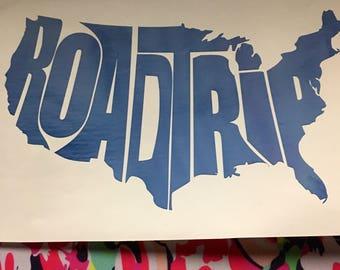 Roadtrip America Decal, sticker