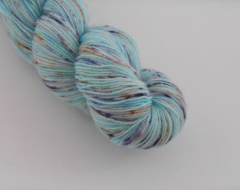 LOVE SOCK,  Aquarium , merino nylon sock yarn,100g