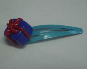 FANCY GIFT POLYMER CLAY HAIR CLIP