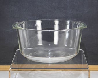 Pyrex 344 3 Qt. Clear Glass Baking Dish