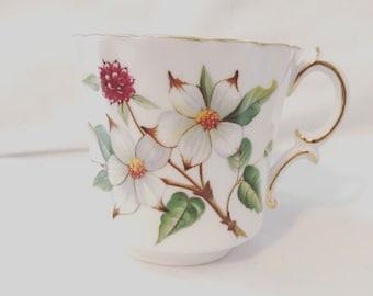 Dogwood Blossom Tea Cup