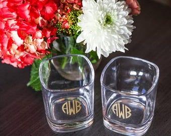 Heartstrings Personalized 12oz Short Glass
