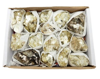 Star Mica Cluster Full Box - Raw Mica Pieces - Box of 12-16 - Crystal Decor (S91TS)