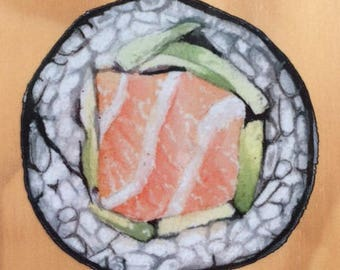Watercolor Sushi Sticker