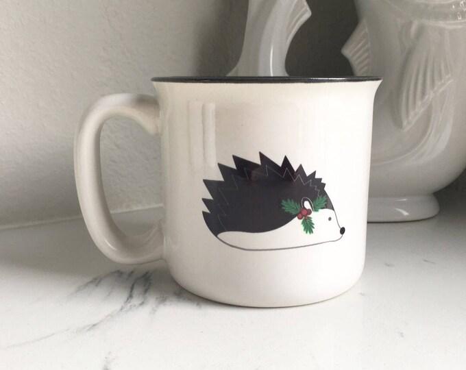 Christmas Hedgehog Campfire Mug