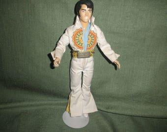 Elvis Presley Figurine with Stand