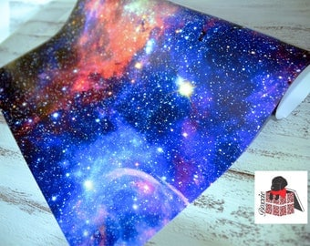 Galaxy gift wrap sheets space nebula wrapping paper GW5055