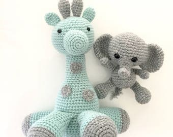 MADE TO ORDER Gerry the Giraffe - amigurumi giraffe