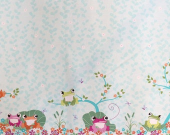 Fabric - Michael Miller - Your pad or mine - medium weight woven cotton fabric.