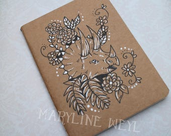 "Sketchbook - notebook Kraft ""Triceratops"""