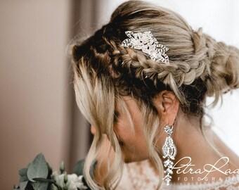 N24 Bridal Veil, wedding hairstyles, Bohos, bridal hairstyles, hair ornaments, comb, bridal headpieces, Fascination, vintage, ivory