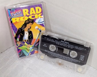 Rad Rock from Ocean Spray 1994 cassette tape 80's Rock - Meat Loaf, Duran Duran, Kinks, Alice Cooper, Front 242