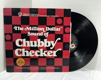 The Million Dollar Sound Of Chubby Checker vinyl record EX