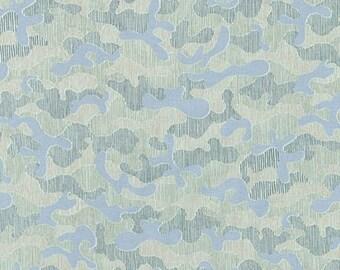 Gleaned - Camo Desert Green - Carolyn Friedlander - Robert Kaufman (AFR-17294-384)