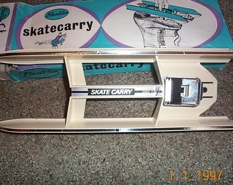 Vintage  Ice Skate carrier  MId Century Modern  unused