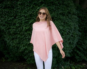 Dreamer Light - Organic Cotton Bamboo Triangle Poncho