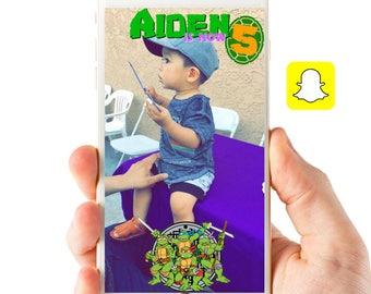 Teenage Mutant Ninja Turtles Geofilter TMNT snapchat filter