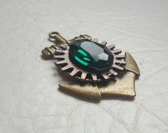 Steampunk jewelry/ steampunk pendant