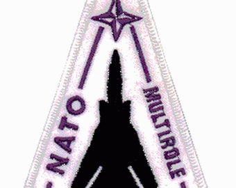Aviation Patch NATO multirole Tornado Military Aviation badge