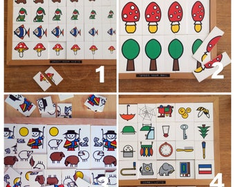 Vintage playful learning teaching materials ROLF BV-C