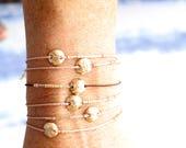 Dainty Silk Morse Code Personalized Bracelets by Bare and Me on Etsy/ Morse Code Bracelets/ Best Friend Jewelry/ Squad Bracelet Gifts/ Bride