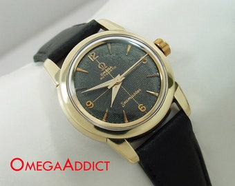 Omega Seamaster Watch Automatic Men's Vintage #A160