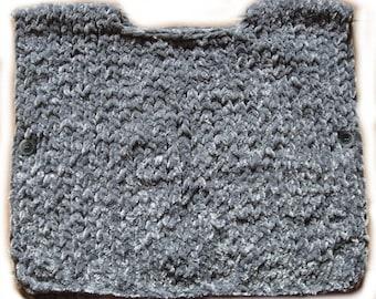 Vest gray poncho - 2 years